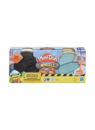 Play-Doh  ınşaat Hamuru Çimento-Asfalt E4508-E4525 Renkli